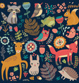 Animal forest pattern