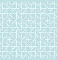arabian geometric star seamless pattern background vector image vector image