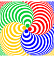 Design colorful swirl circular movement background vector image vector image