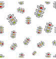 Seamless abstract pattern traffic lights