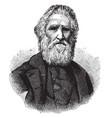 sir duncan macdougall vintage vector image vector image