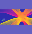 3d molecule molecular structure abstract 3d vector image