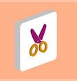 shears scissors computer symbol vector image