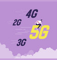 5g network wireless technology concept vector image