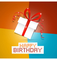 happy birthday theme vector image vector image