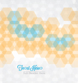 Hex Cover vector image vector image