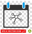 Links Calendar Day Eps Icon vector image vector image