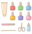 manicure set vector image