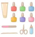 manicure set vector image