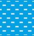 regal crown pattern seamless blue vector image vector image