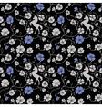 Renaissance Floral Seamless Pattern vector image vector image