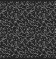 Swirls dark seamless pattern