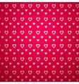 Valentine day pattern with shadow vector image vector image
