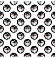 Bowling pattern seamless vector image vector image