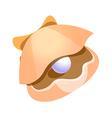 icon clam vector image vector image