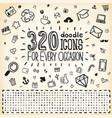 320 Doodle Icons Universal Set