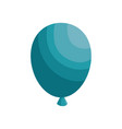 air balloons isolated vector image vector image