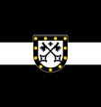 flag of xanten in north rhine-westphalia germany vector image vector image