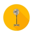 flat icon electric fan vector image vector image