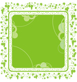 grape vine border vector image vector image