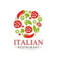 Italian restaurant logo design authentic