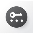 privacy icon symbol premium quality isolated key vector image