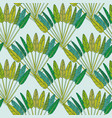 rainforest decorative wallpaper ornament with vector image