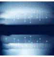 Stream of binary code vector image vector image