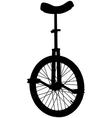 unicycle vector image vector image