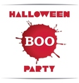Just Halloween party poster vector image vector image