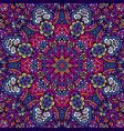 mandala pattern ornamental vector image vector image