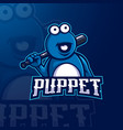 puppet vector image
