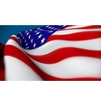 united sates american flag vector image