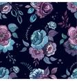 flowers watercolor pattern wallpaper textile vector image