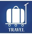 travel icon Globe vector image