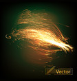 a burst of abstract lines vector image vector image