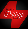 black friday flash big sale square poster graphic vector image