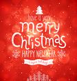 christmas bg vector image vector image
