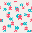 decorative pattern arrows and pointers vector image vector image
