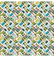 Different batteries seamless pattern vector image vector image