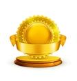 Gold award vector image vector image