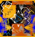 modern colorful geometric greek seamless pattern vector image vector image