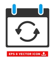 Refresh Calendar Day Eps Icon vector image vector image