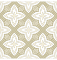 seamless ornate geometric pattern vector image vector image