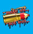 color pencil bullet vector image