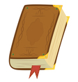 Leather Magic Book vector image