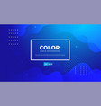 Liquid colorful geometric background rainbow 3d
