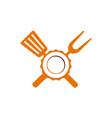 logo restaurant vector image