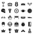 purse icons set cartoon style vector image vector image