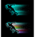 Sport running background vector image vector image